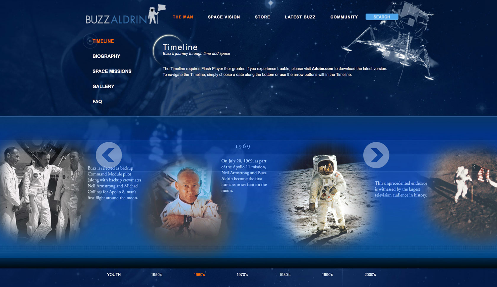 Buzz-Aldrin-Website-Project